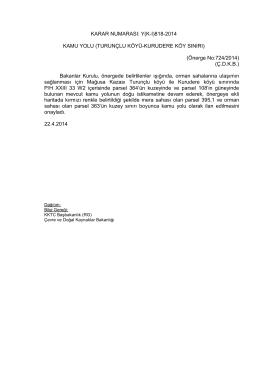 22.04.2014 - KKTC Başbakanlığı