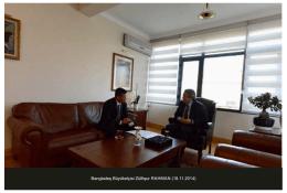 Bangladeş Büyükelç s Zülf qur RAHMAN (18.11.2014)