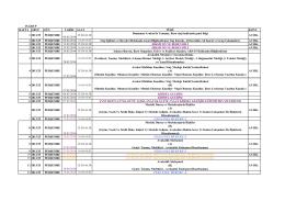 25 Grup Eğitim Programı