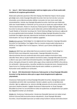 5-) Konu 5: 2015 Talimat düzenlemeleri akıllı test
