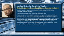 Jean-Paul Sartre, Varoluşçuluğun Vargıları — I Özsüz Görüngüler