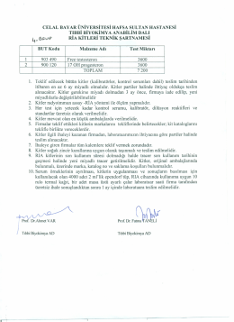 4. grup teknik şartnamesi - Celal Bayar Üniversitesi