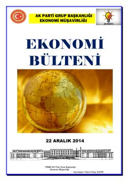 22.12.2014 Ekonomi Bulteni
