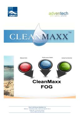 cleanmaxx BROSUR