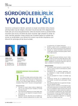 Sürdürülebilirlik Yolculuğu (PDF 1.16MB)