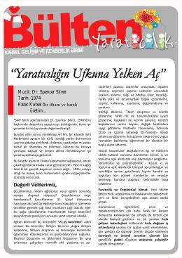 Yaratıcılık / Mart 2014