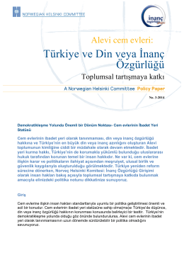Türkiye ve Din veya İnanç Özgürlüğü