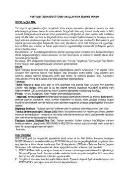 CFD Risk Açıklaması