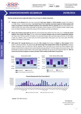 2011 ıv. çeyrek strateji raporu makroekonomik gelişmeler 29/08/2014