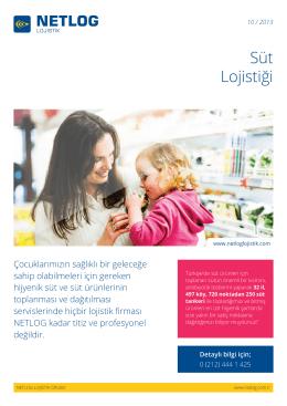 Süt Lojistiği - Netlog Lojistik Grubu