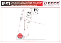 EF-FTE Fırçalı Toz Emme Ünitesi