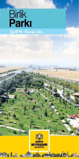 Birlik Parkı - Konya Büyükşehir Belediyesi
