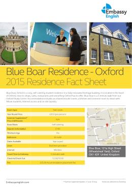 Blue Boar Residence
