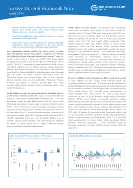 Türkiye Ekonomi Notu (Aralik 2014, PDF)
