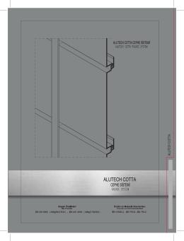 Alutech Cotta Cephe Kaplama Sistemi