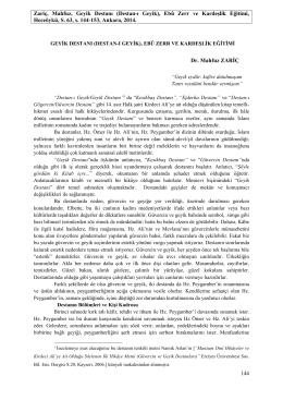 Mahfuz Zariç-Geyik Destanı (Destan-ı Geyik), Ebû Zerr ve Kardeşlik