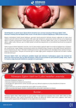 REV E-Bülten - Rönesans Holding