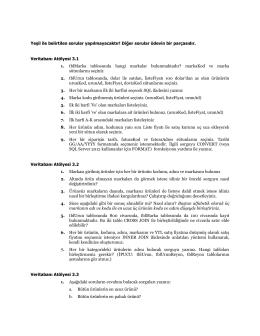 ödev-3(atölye çalışması - Yeşil sorular ödev dışıdır