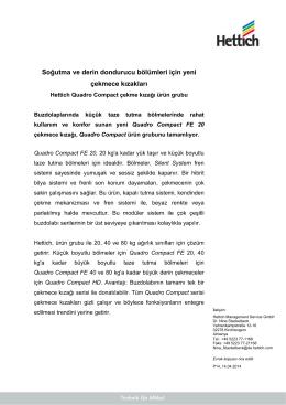 PDF yükle - Hettich