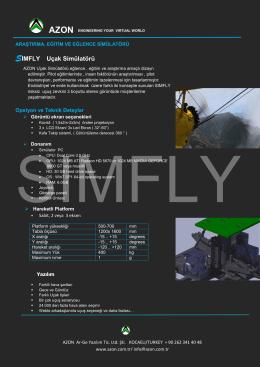 uçak simülatörü sımfly