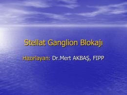 Stellat Ganglion Blokajý - Doç.Dr.Mert AKBAŞ,FIPP