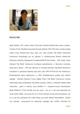 Başak Balaban 1993 yılında Ankara Üniversitesi