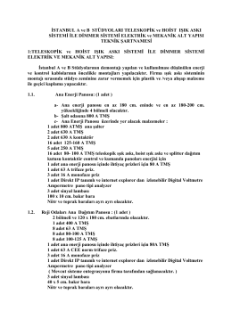Teknik Sartname 2014-17134