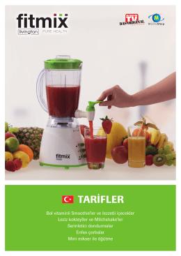 TARİFLER - Fitmix