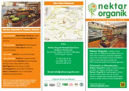 Dijital Katalog - Organik Ürünler Marketi