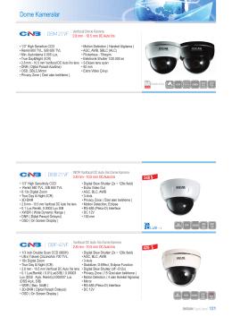 Dome Kameralar