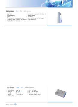 DB - 111 Darbe Sensörü