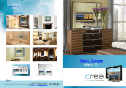 Digital Signage Mirror TV