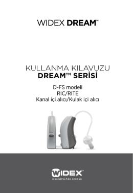 Kullanma Kılavuzu DREAM™ SERiSi