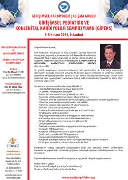 girişimsel pediatrik ve konjenital kardiyoloji sempozyumu (gipeks)