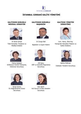 Kalite Yönetim Birimi - İstanbul Cerrahi Hastanesi