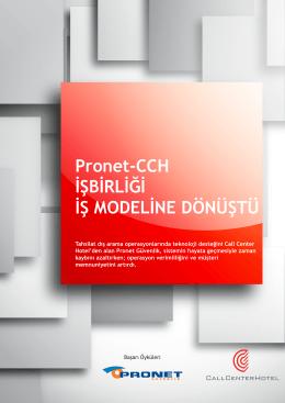 Pronet, Tahsilat Operasyon Verimliliğini CCH