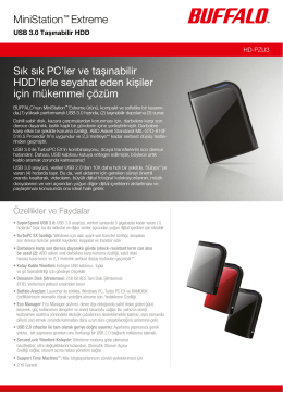 Die DDR3-Technologie von Buffalo: Ultraschnelle mobile Festplatte