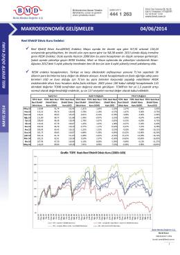 2011 ıv. çeyrek strateji raporu makroekonomik gelişmeler 04/06/2014