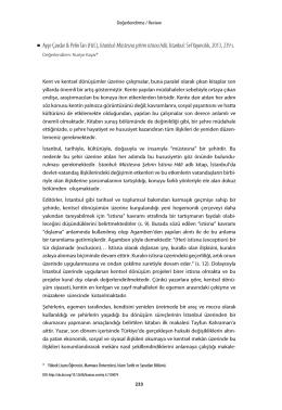 Nuriye Kayar / İnsan ve Toplum
