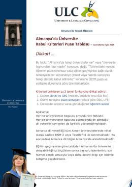 Special Report - ULC | Yurtdışı Eğitim