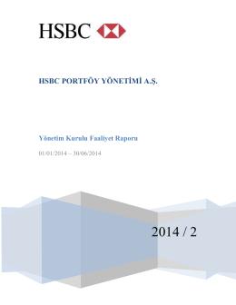 2014-2. Ara Dönem Faaliyet Raporu