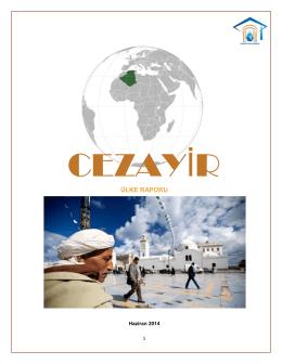 Cezayir - Hidropolitik Akademi
