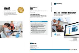 Roxtec Transit Designer™ folder
