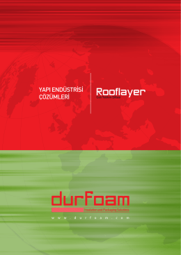 Rooflayer - Durfoam