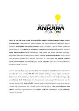 sergi metni - Başkent Üniversitesi, Güzel Sanatlar Tasarım ve