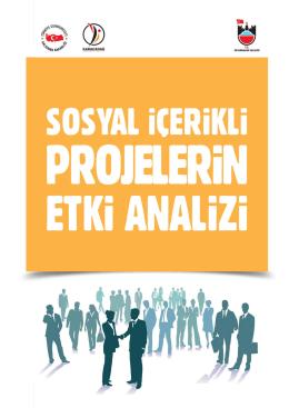 15.13-DFD-01 Diy. Valiliği Sosyal İçerikli Projelerin Etki Analizi