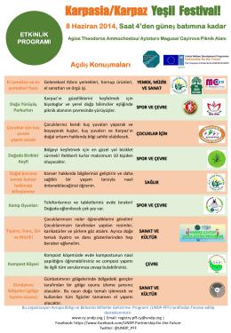Karpasia/Karpaz Yeşil Festival!