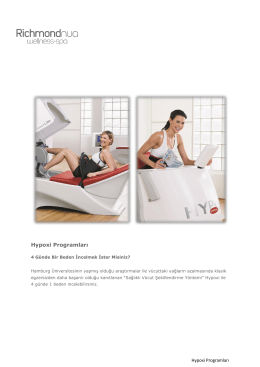 Hypoxi Programları - Richmond Nua Wellness Spa