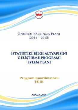 İstatistiki Bilgi Altyapısının Geliştirilmesi Programı