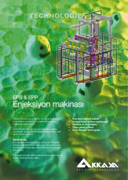 Enjeksiyon makinası - Akkaya EPS